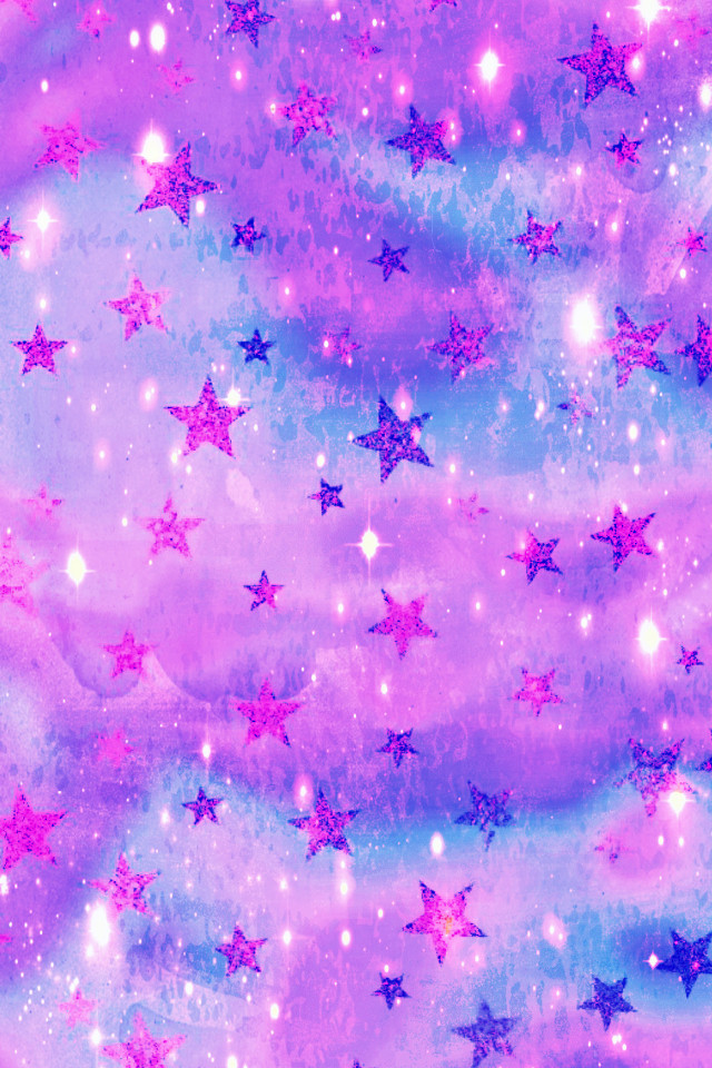 #freetoedit @mpink88 #glitter #sparkle #galaxy #stars #purple #pattern #clouds #sky #shimmer #art #painting #stardust #cute #kawaii #pastel #wallpaper #background #overlay