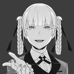 anime appiconanime appicon kakegurui president kirarimomobami kirari freetoedit
