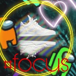 freetoedit amongus colors neon focus shoes ircdesignyourdreamshoe designyourdreamshoe