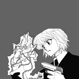 hunterxhunter hxh kurapika manga anime appicon appiconanime freetoedit
