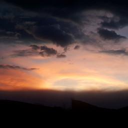sunset sunrise sky photpgraphy sunsetlover greyskull freetoedit