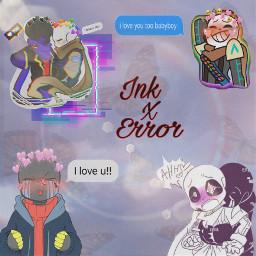 ship inkxerror ink error inktale errortale undertale freetoedit