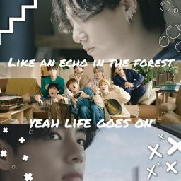 be lifegoeson kpop mv mvedit kpopidol idol kpopidols 2020 bts bangtan album new taehyung jungkook jimin namjoon jhope suga jin cute
