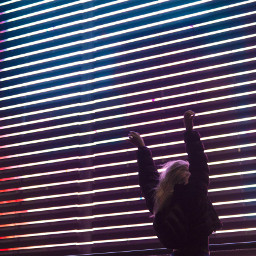 freetoedit girl mall neon parking light