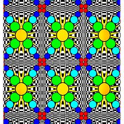 graphic optical