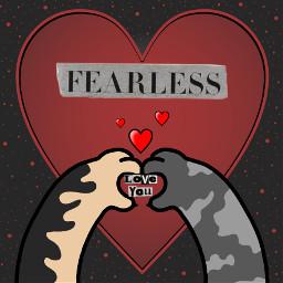 loveyou animallove fearlessheart freetoedit ecmagazineletters magazineletters