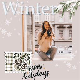 freetoedit holiday holidays holidaymood holidayvibes winter cozy wintertime christmas christmasspirit happyholidays template