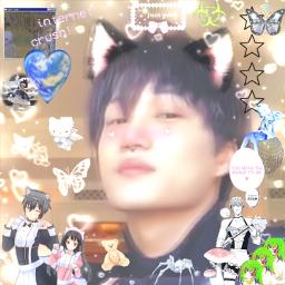 kai kaiexo exo exoedit exokai kaiedit fanartofkai animecore animecoreaesthetic cybercore jongin jonginedit jonginexo kimjongin freetoedit