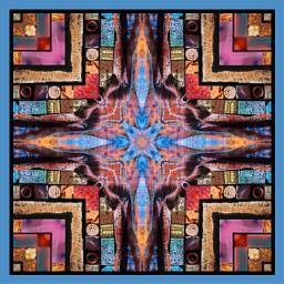 digitalart modernart popart abstractart artisticexpression colorful kaleidoscope design myedit freetoedit