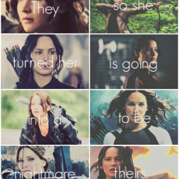katniss katnisseverdeen thehungergames hungergames books book fandom quote quotesandsayings nightmare