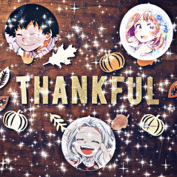 thanksgiving mha izuocha eri anime freetoedit
