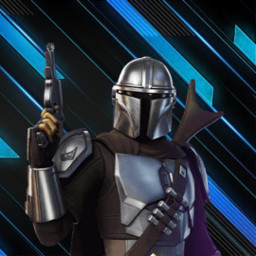 fortnite logo fortniteskin simonfox twitch teamfoxes mandalorian starwars season5 chapter2 leak freetoedit