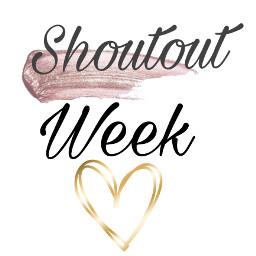 shoutout week freetoedit