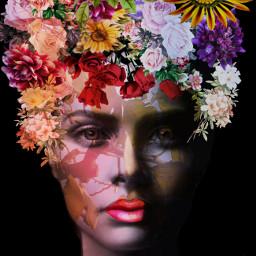 rcthankful flower flowergirl beautiful beautifulgirl freetoedit