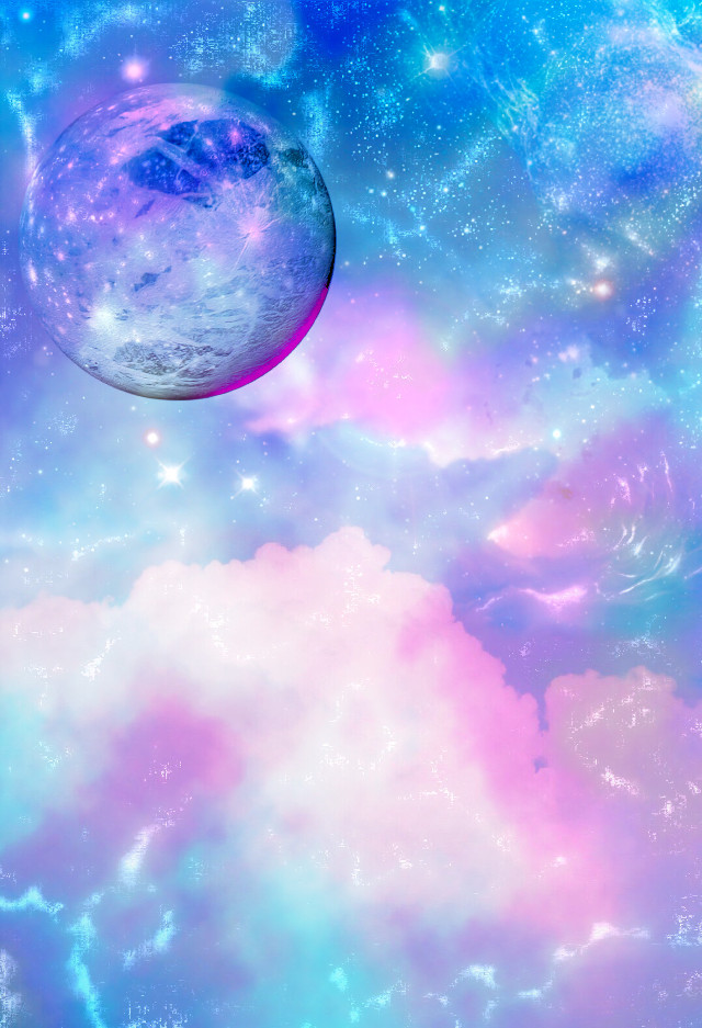 #freetoedit @mpink88 #gitter #sparkle #galaxy #sky #stars #moon #blue #purple #lights #shimmer #pastel #cute #girly #cosmos #nature #landscape #wallpaper #background #overlay