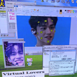 y2k aesthetic webcore cybercore cyber cybergoth cyberpunk draingang drainer nostalgiacore nostalgia dreamcore liminal weirdcore nct nctlucas lucas wayv freetoedit