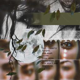 eyes quotes aliceinwonderland collage moon freetoedit