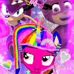 rainbowsparkle sonicky catgirl kittyrainbowsisters freetoedit