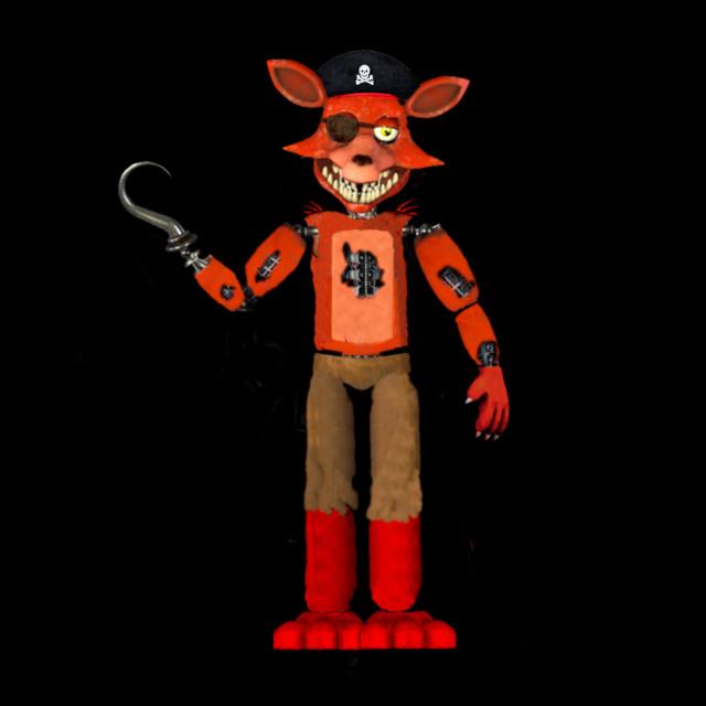 #fnafedit step closer foxy