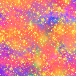 freetoedit glitter sparkle galaxy sky stars colorful universe space cosmos gold neon shimmer prism cute girly aesthetic overlay background wallpaper