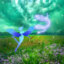 fantasyart makebelieve myimagination alternateuniverse fairy elf magicwand dreamy surreal surrealistic heypicsart picsartmaster masteredit myedit madewithpicsart freetoedit srcmoonaesthetic moonaesthetic