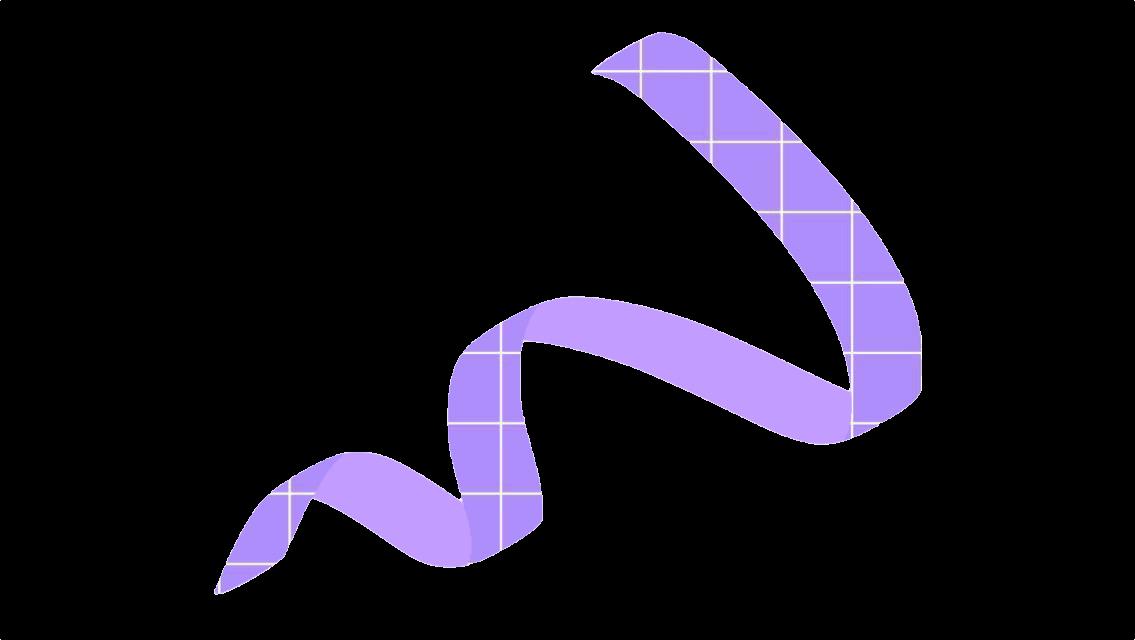#ribbon #purple #checker #korean #sticker