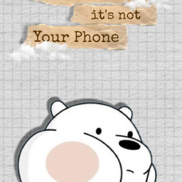 wallpaper cute webarebears cartoon aesthetic freetoedit