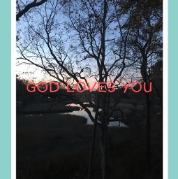 godlovesyou sunset