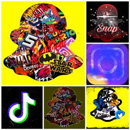 snap pourtoi styler logo vyral art freetoedit