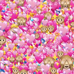 pinkaesthetic pink aesthetic aestheticpink aesthetics girly emoji emojis anime art cute kawaii heart background backgrounds backdrop sticker freetoedit