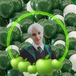 dracomalfoy slytherin princeofslytherin green darkgreen draco malfoy apple greenapple harrypotter hogwartsschoolofwitchcraftandwizardry hogwarts draco_malfoy dracomalfoyedit black angel devil deatheater baloons balony zielony ciemnyzielony narcissamalfoy luciusmalfoy severussnape freetoedit