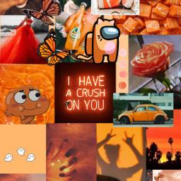 orange orangewallpaper wallpaper aesthetic orangeaesthetic amongus peach orangecandy candy starburst pumpkin halloween sunset butterflies shoes orangeshoes nike dress orangedress flower quote clouds orangerose background jarrito freetoedit