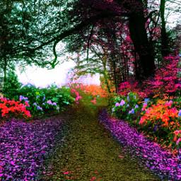 colorpop colorful landscape huechange freetoedit