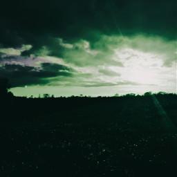 photography lightingthedark lighteffects nature green neoneffect
