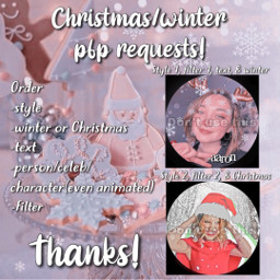 anime 2d pfprequests free pfp requests mxmtoon milliebobbybrown chirstmas winter aesthetic