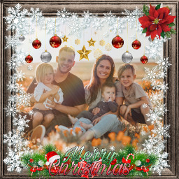 christmas family merry merrychistmas border freetoedit