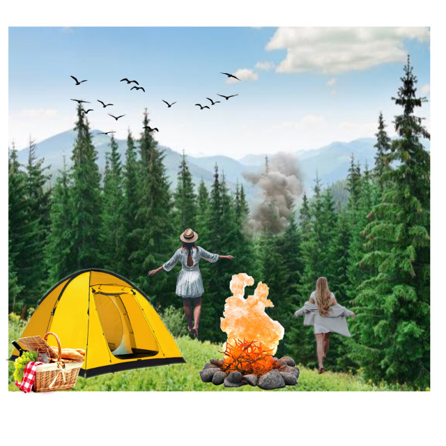 #camp #summer #fun#why not#traveltime#sky