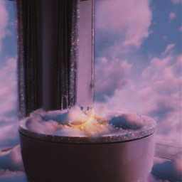 sky heaven clouds moon windows aesthetic aestheticbackground bathtub glitter brilliant background picsart makeawesome fantasy awesome madewithpicsart papicks stars imagination inspiration