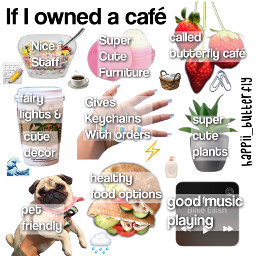 normani cute aesthetic cafe ifiownedacafe pug spotify billieeilish keychains cereal strawberries healthylifestyle healthy coffee fairylights freetoedit