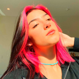 indie charli charlidamelio char dunkin saturation style pink hair happy beautiful viral famous avani zoe addison crown queen freetoedit