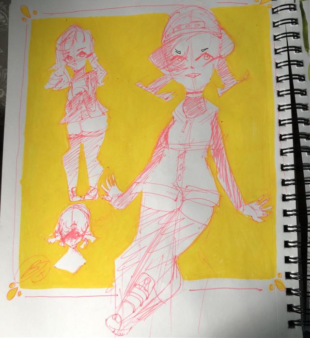Yellow is an amazing colour 💛 #interesting #art #artwork #sketch #drawing #cutie #baddie #cutegirl #tomboy #cuteoutfit #addisonrae #inspiration #addisonraeart #boits #aesthetic #gachaedit #oc #ocs #sketchspread #remixit #anime #artstyle #animeart #animeartstyle #freetoedit
