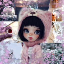 freetoedit cute doll beautiful winter ccwintermoodboard