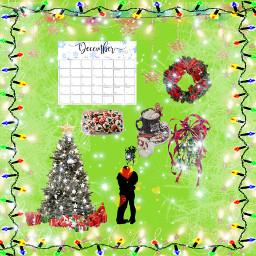 christmasedit greenbackground happyholidays christmastree hotcocoa presents freetoedit