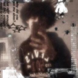 cybercore yanderecore catboy altboy alternative alt altcore gorecore scenecore anime cyber glitchcore goth gothic scene emoboy emo freetoedit