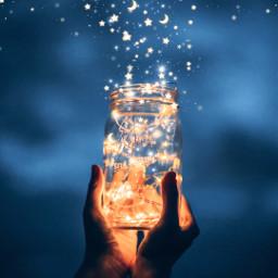 stars jar freetoedit