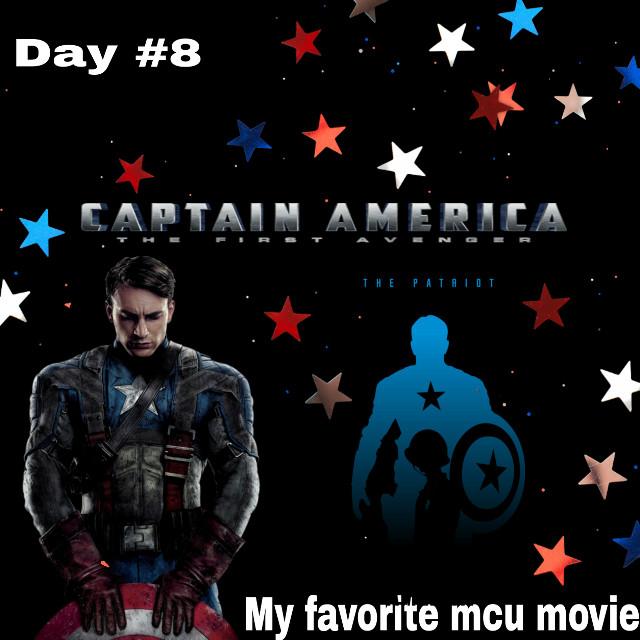 Day #8 My favorite mcu movie #captainamerica #captainamericathefirstavenger