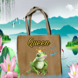 pond frog queen freetoedit unsplash ircdesignthebag designthebag