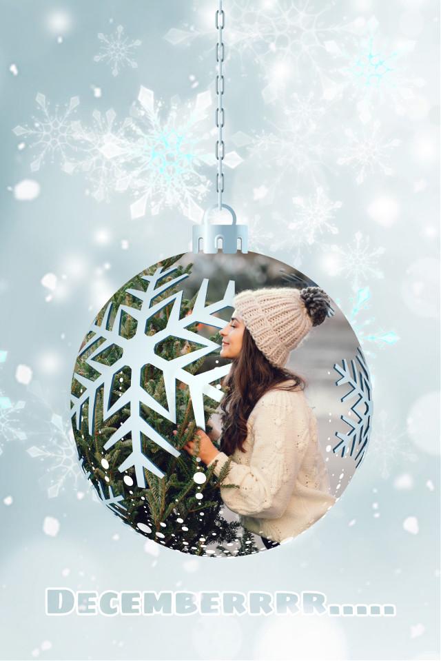 #freetoedit #freetoedit #christmas #holidays #happyholidays #holidayvibes #ornament #december  #christmastree #snowy