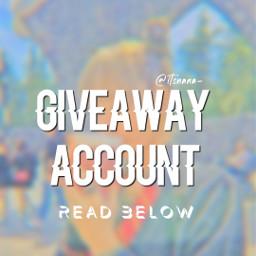freetoedit giveaway giveawaycontest contest backupacc