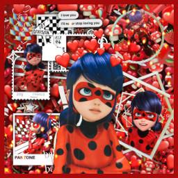 freetoedit foryoupage fanedit mlb miraculousladybug ladybug red redaesthetic marinette